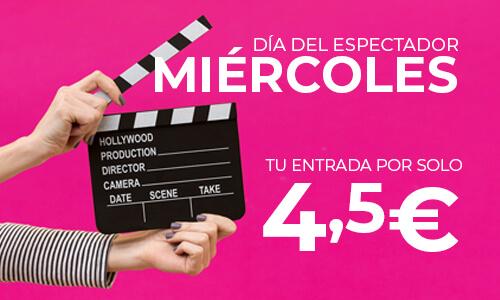 DÍA DEL ESPECTADOR 4,5€